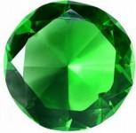 кристалл для игры зеленый
